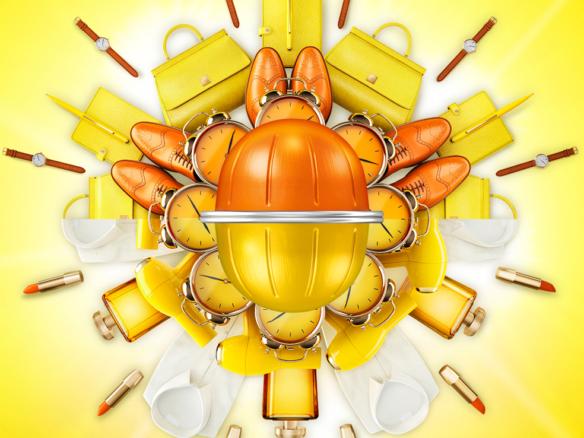 3D Nespresso Coffee Pods Illustration Thumbnail