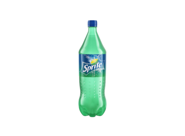 3D Sprite Bottle Illustration Thumbnail