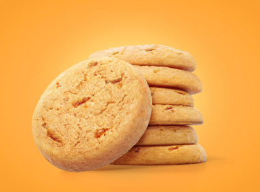 3D Toffee Biscuits Illustration Thumbnail