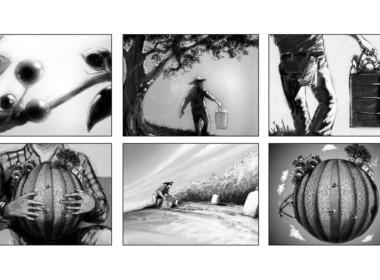2D Farming Storyboard Illustration Thumbnail