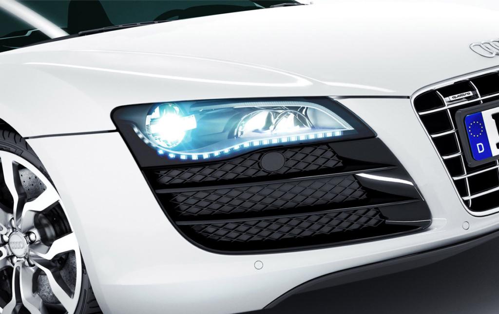 3D Audi R8 Automotive Illustration Thumbnail