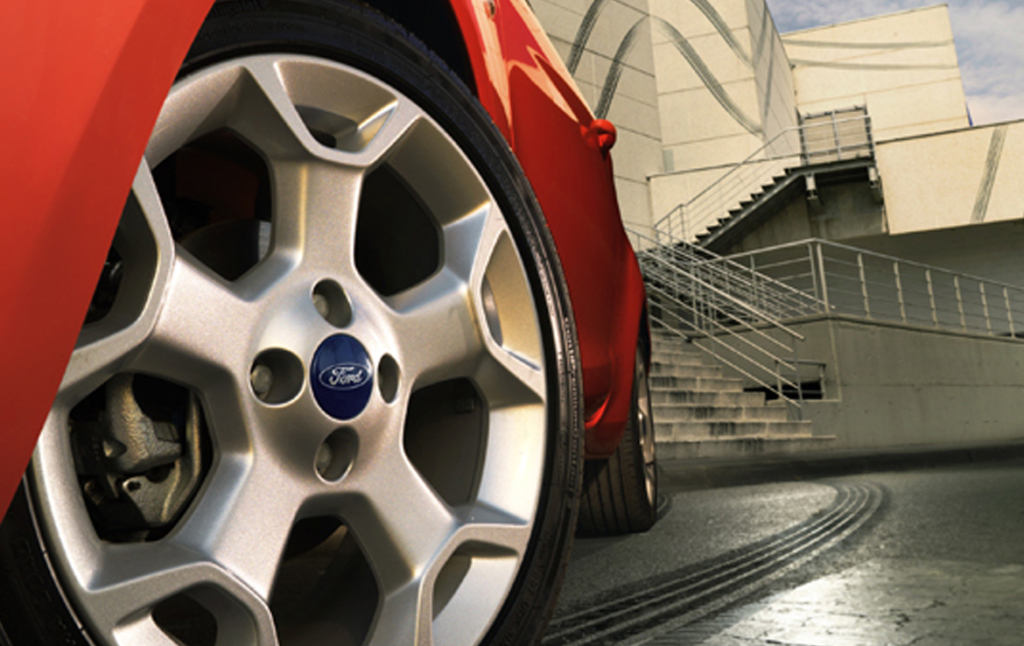 3D Ford Fiesta Automotive Illustration Thumbnail