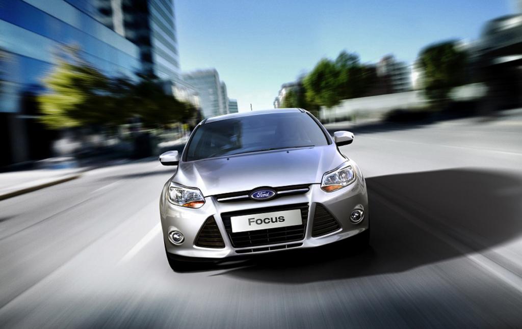 3D Ford Focus Automotive Illustration Thumbnail