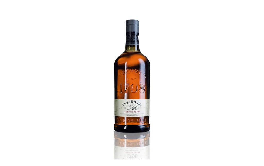 3D Tobermory Whisky Bottle Illustration Thumbnail