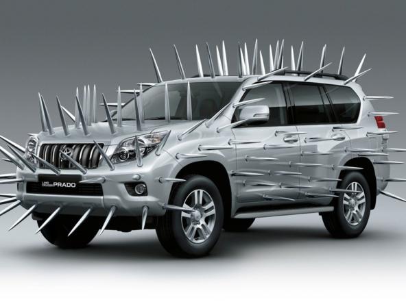 3D Toyota Landcruiser Automotive Illustration Thumbnail