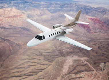 3D Cessna Citation Bravo Jet Illustration Thumbnail