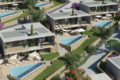 3D Modern New Builds Architectural Illustration Thumbnail