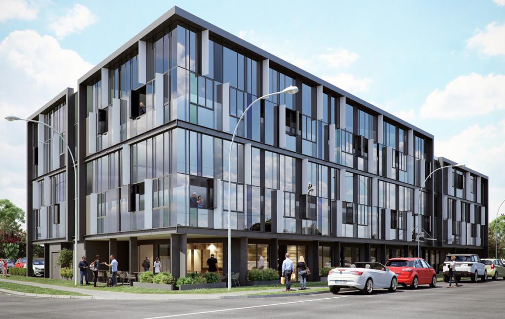 3D New Build Flats Architectural Illustration Thumbnail
