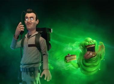 3D Peter Venkmen Ghostbusters Character Illustration Thumbnail