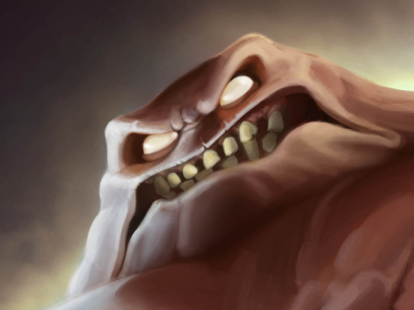 2D Clayface Batman Cartoon Illustration Thumbnails