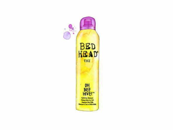 2D Dry Shampoo Bottle Product Illustration Thumbnail