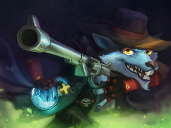2D Fox Bandit Character Illustration Thumbnail