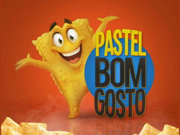 2D Pasta Character Advertising Illustration Thumbnail