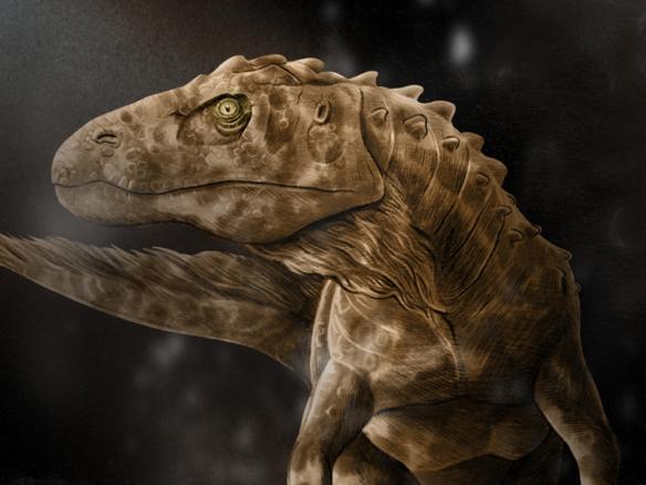 2D Velociraptor Dinosaur Creature Illustration Thumbnail