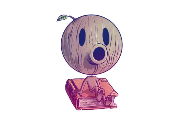 2D Woodman Character Illustration Thumbnail