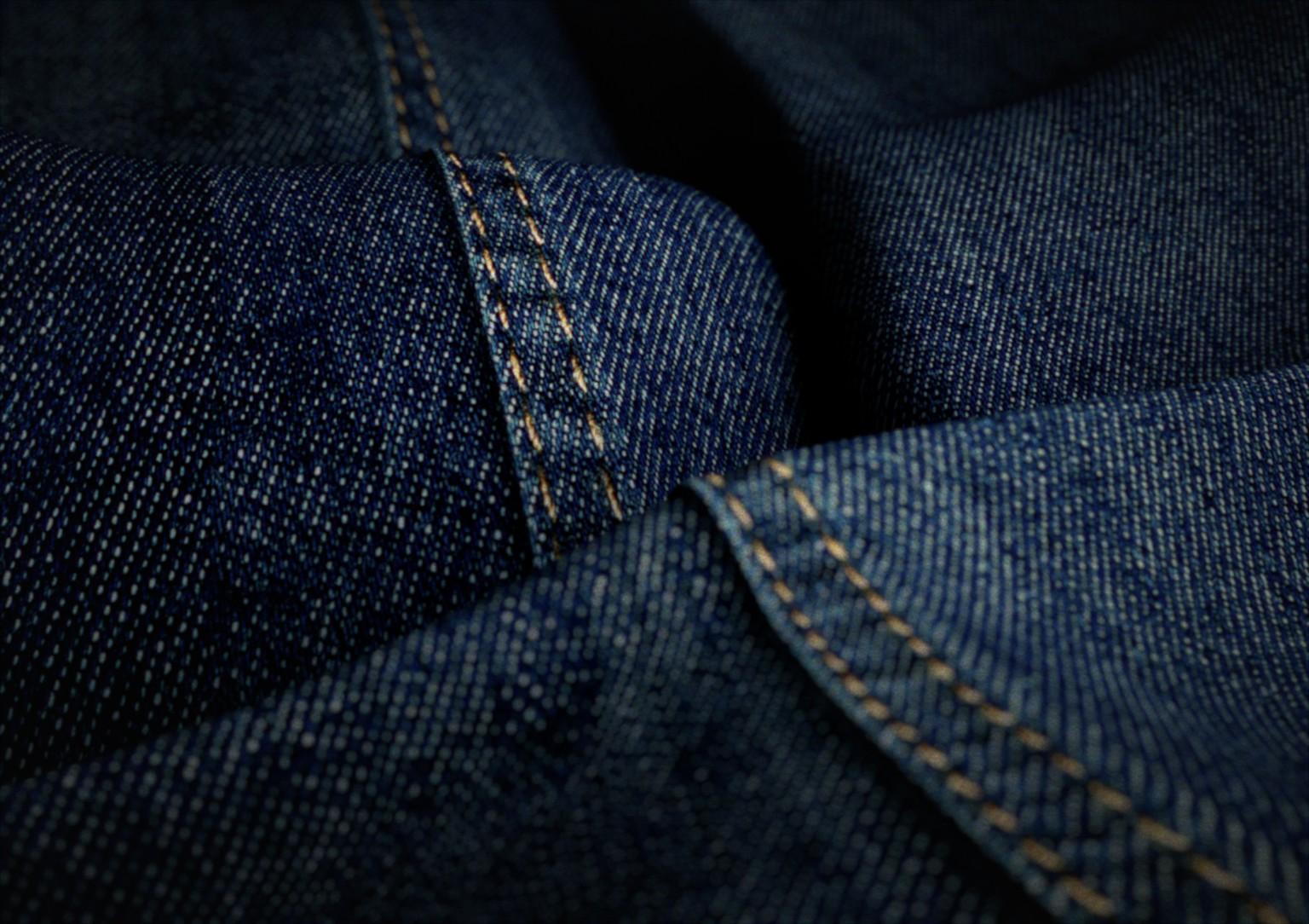 3D Jeans Closeup Clothing Illustration
