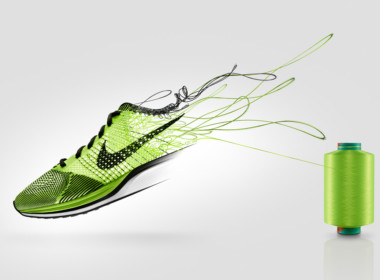 3D Nike Trainers Thread Product Illustration Thumbnail