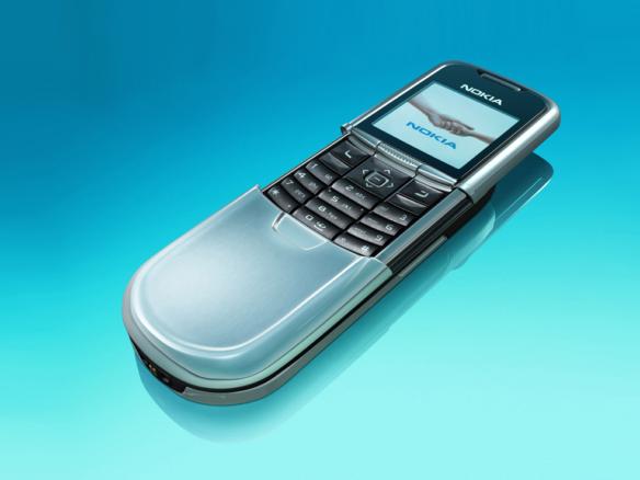 3D Nokia Flip Phone Product Illustration Thumbnail