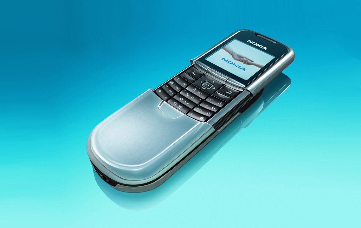 3D Nokia Flip Phone Product Illustration Thumbnail