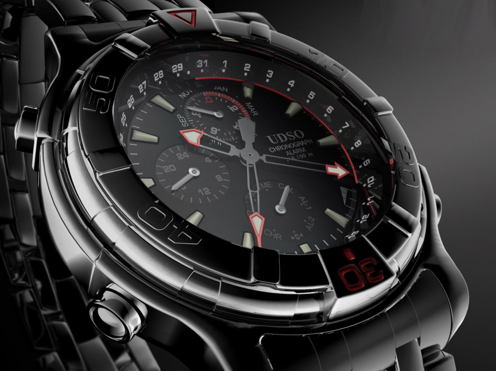 3D UDSO Watch Product Illustration