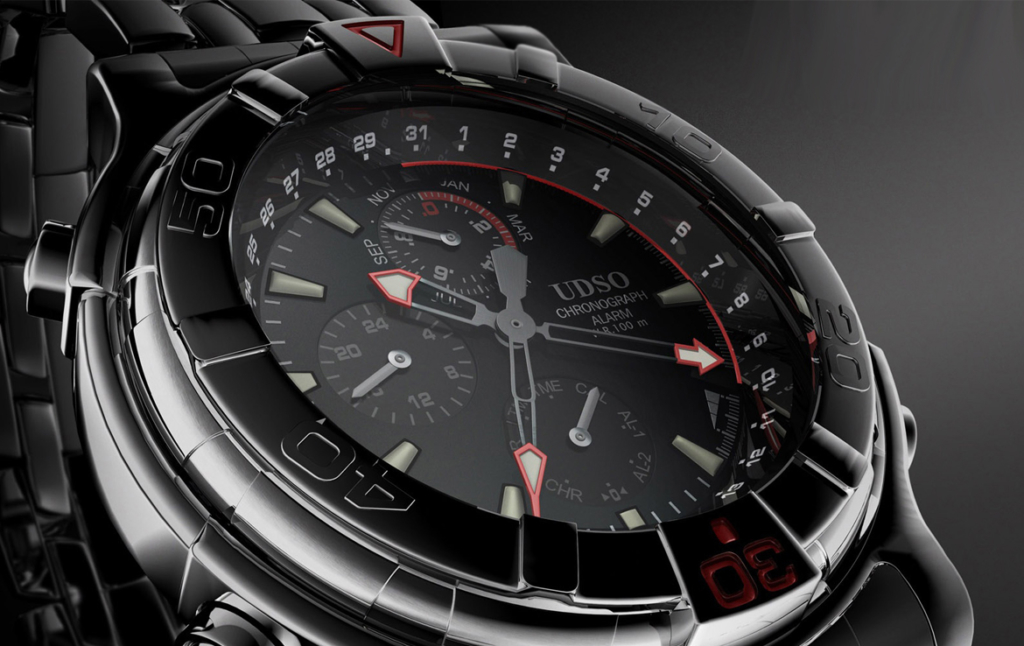 3D UDSO Watch Product Illustration Thumbnail