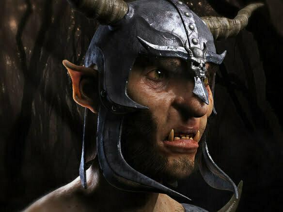 3D Fantasy Goat Creature Illustration Thumbnail