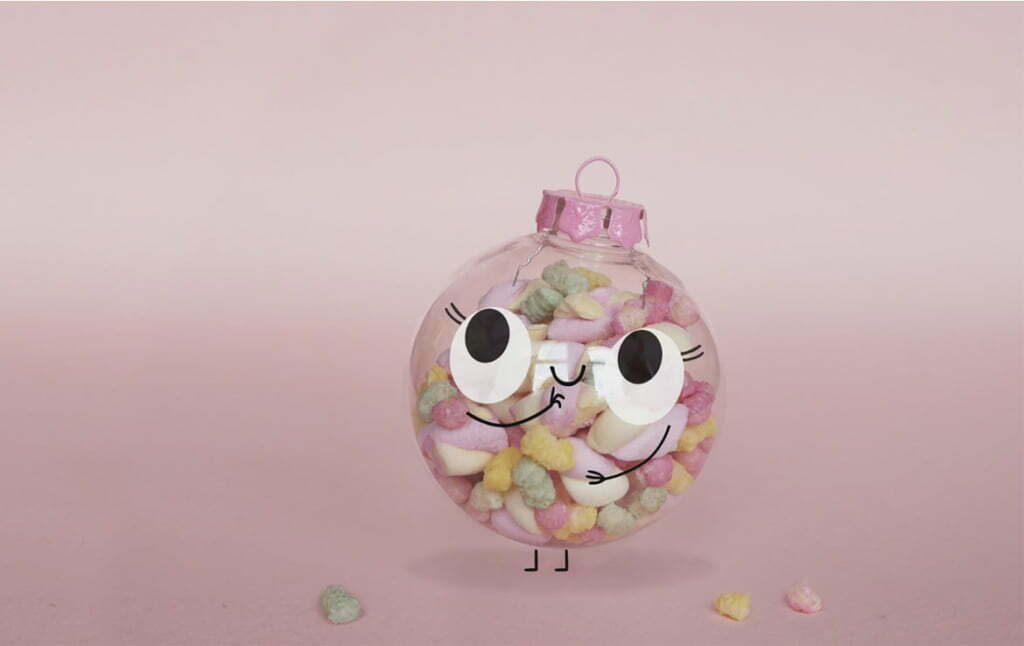 2D animation christmas character animated promo video