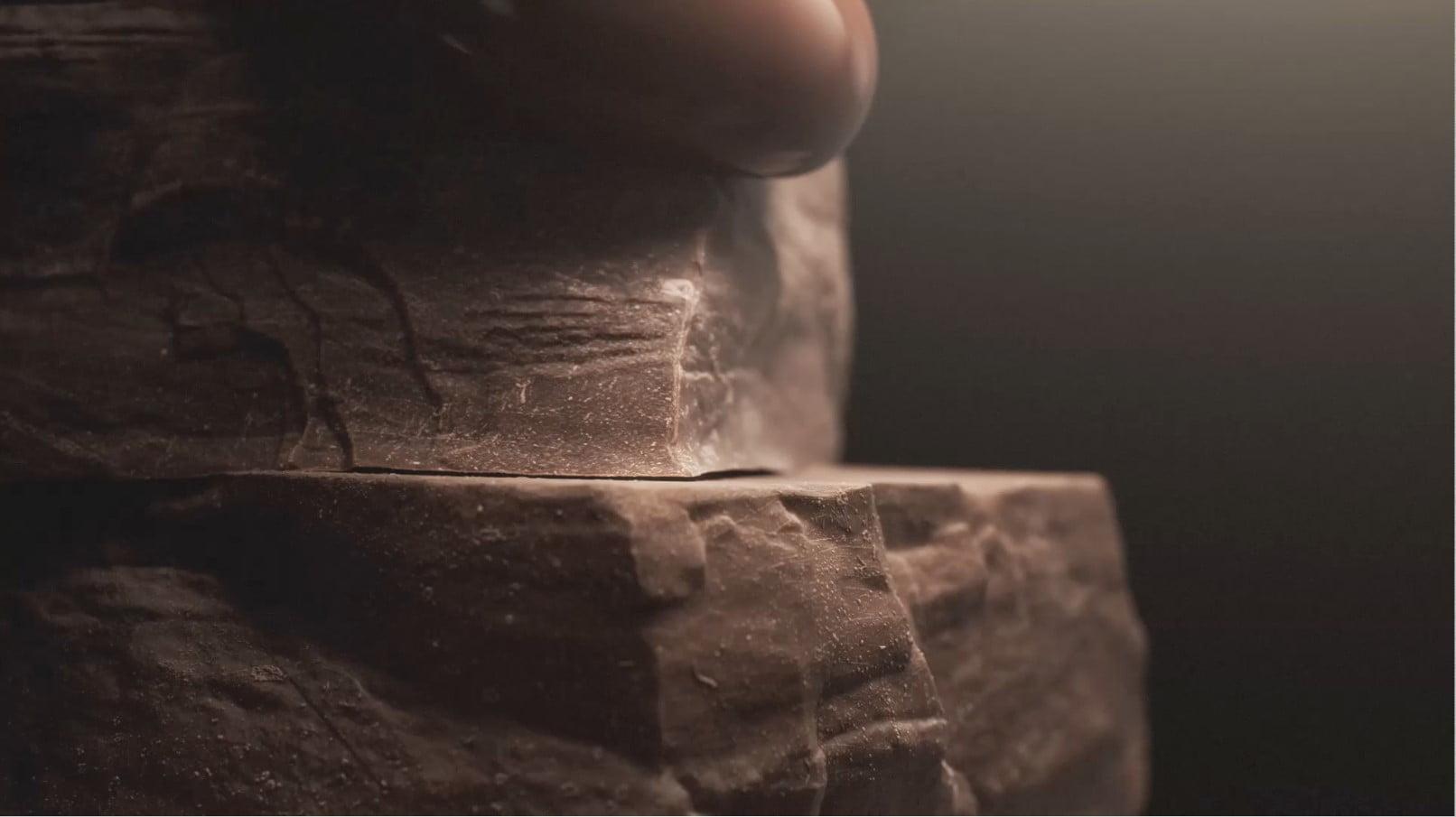 3D Chocolate Product Illustration