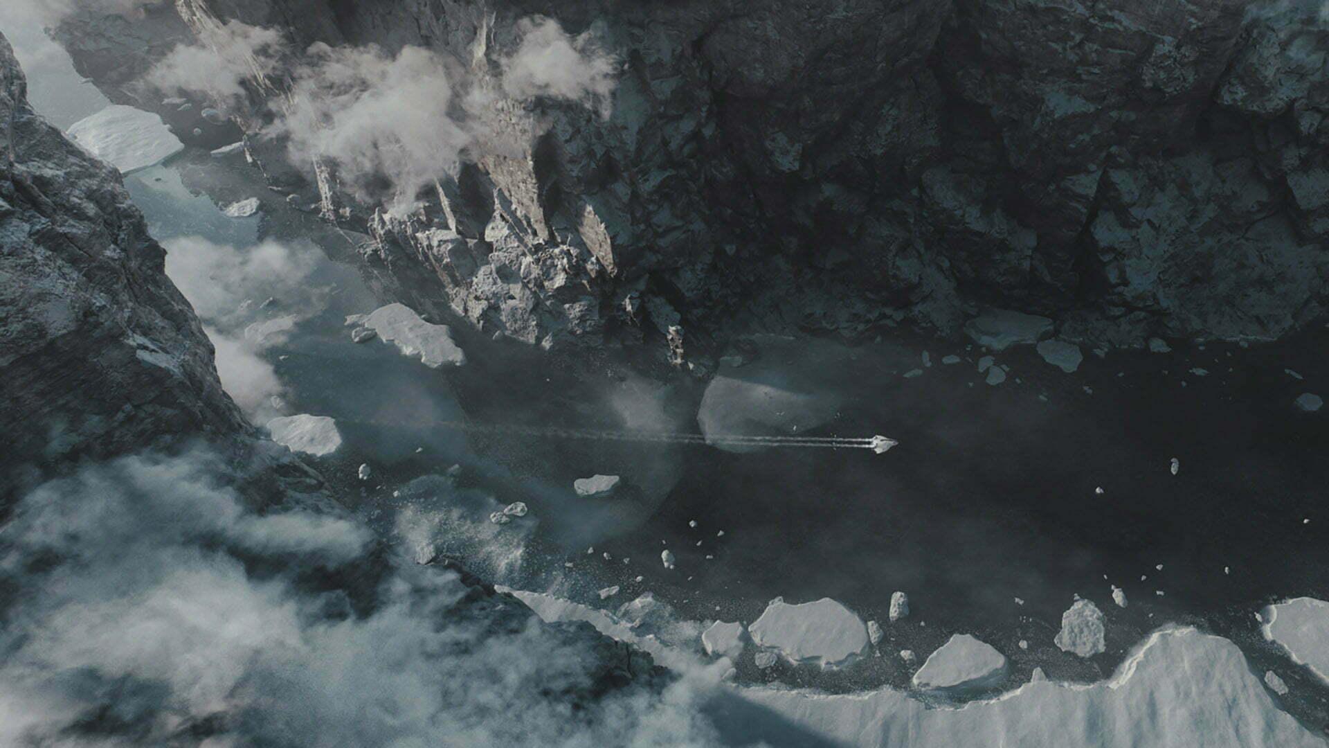 3D Mountain Environment Illustration
