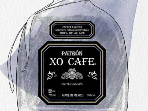 2D Brands Illustration Drinks Bottle Cafe Patrón