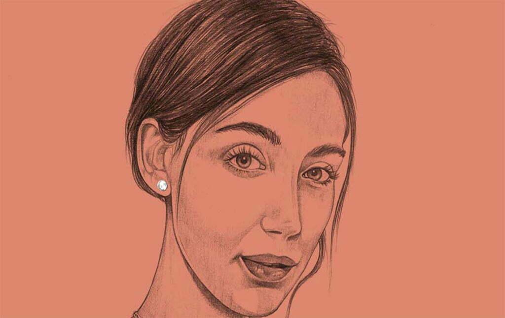 2D Portraits Illustration Woman 6