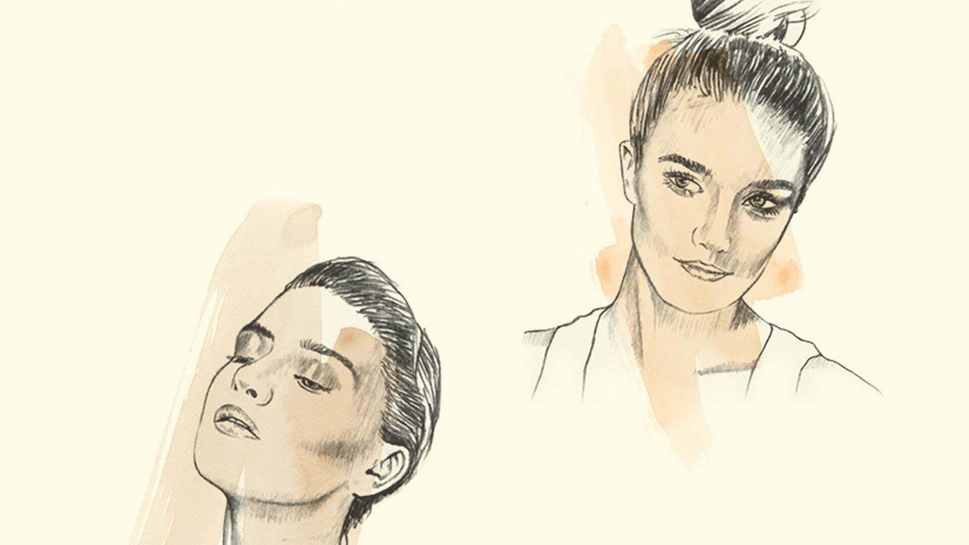 2D Portraits Illustration Women 7