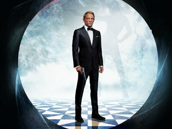 TV James Bond Film poster advertising artwork illustration