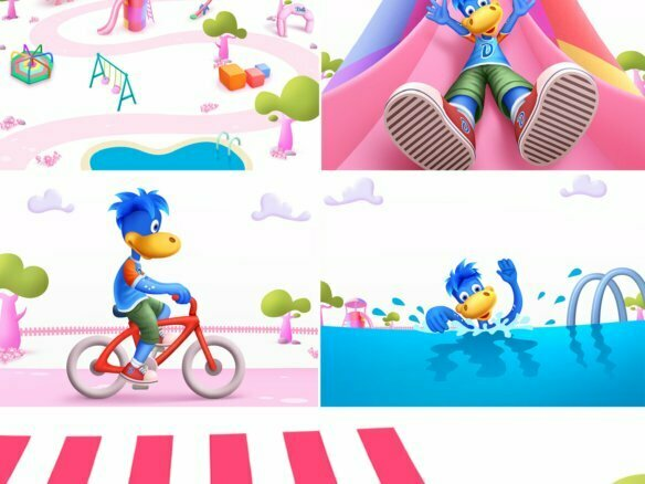 Storyboard Cartoon Childrens Toys