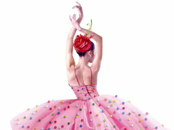 2D Realistic Illustration Candy Dancer